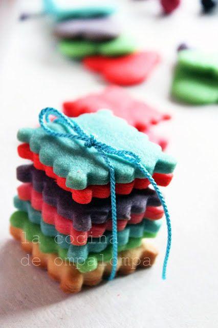 Receta de galletas caseras para hacer con niños By La cocina de ompalompa