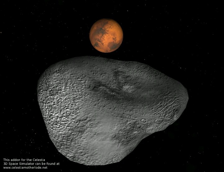 biggest asteroid in the solar system collided with earth - photo #45