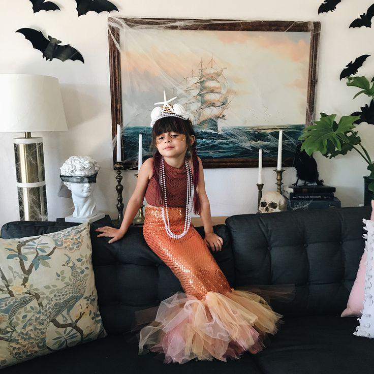 DIY Child Mermaid Costume Tutorial