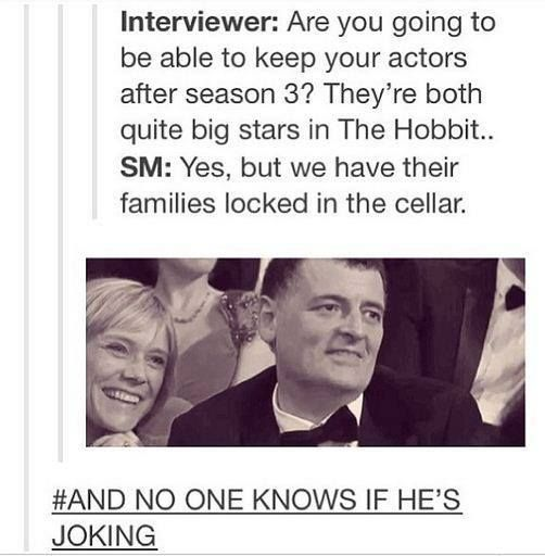I could see Moffat being crazy enough to do that.