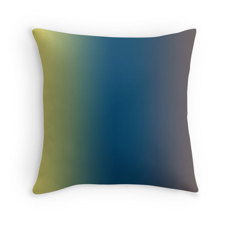 Beautiful Cushions/The Block Collection/TripleThreat Gradient Gradient Straw Indigo Wenge