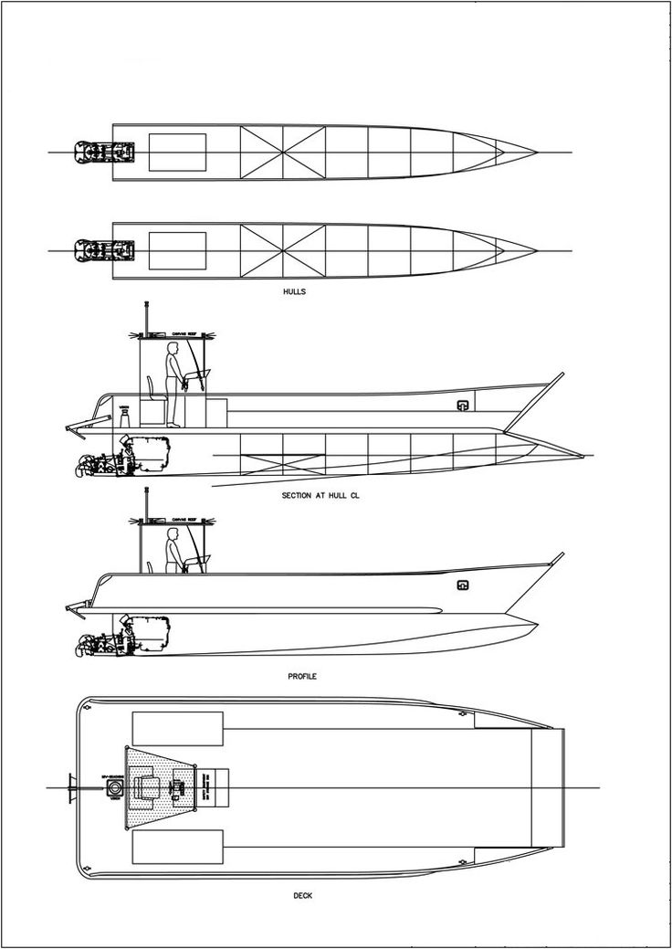 Small Catamaran Design Plans