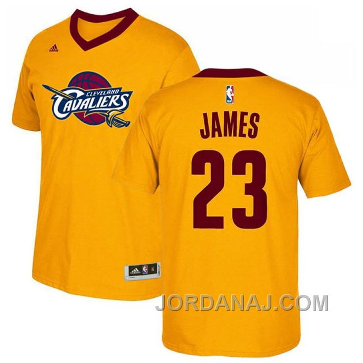 the latest 4f5ca 5030d shop cleveland cavaliers 23 lebron james navy blue with gold ...