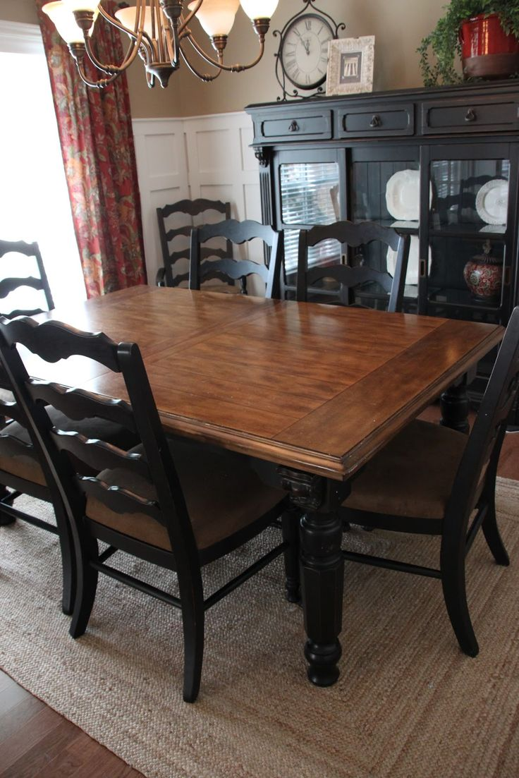 Uncategorized hand painted childrens table and chairs foter - That Village House The Finished Dining Room Finally