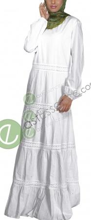 Summer cotton abaya