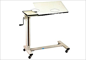 Bedside Table: GPC Medical Ltd. - Exporters and manufacturers of Bedside table, hospital bedside table, adjustable bedside table from India. Visit us for more products http://www.gpc-medical.com/hospital_furniture_india/bedside_table_india.htm