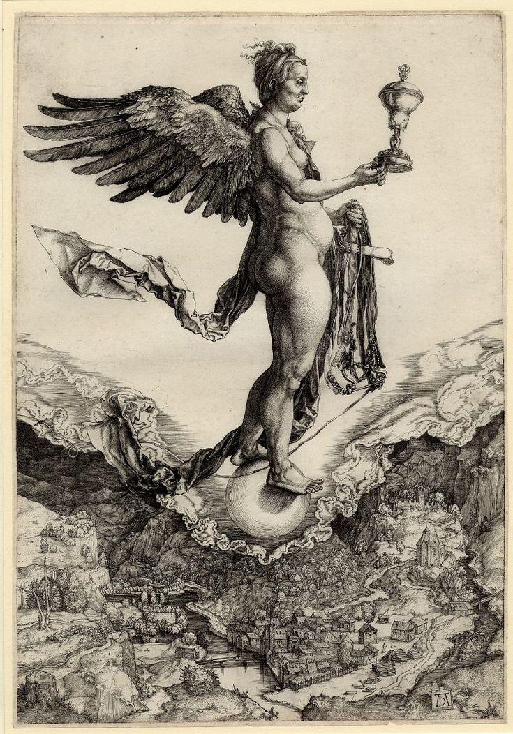 Albrecht Dürer Nemesis, or the Large Fortune