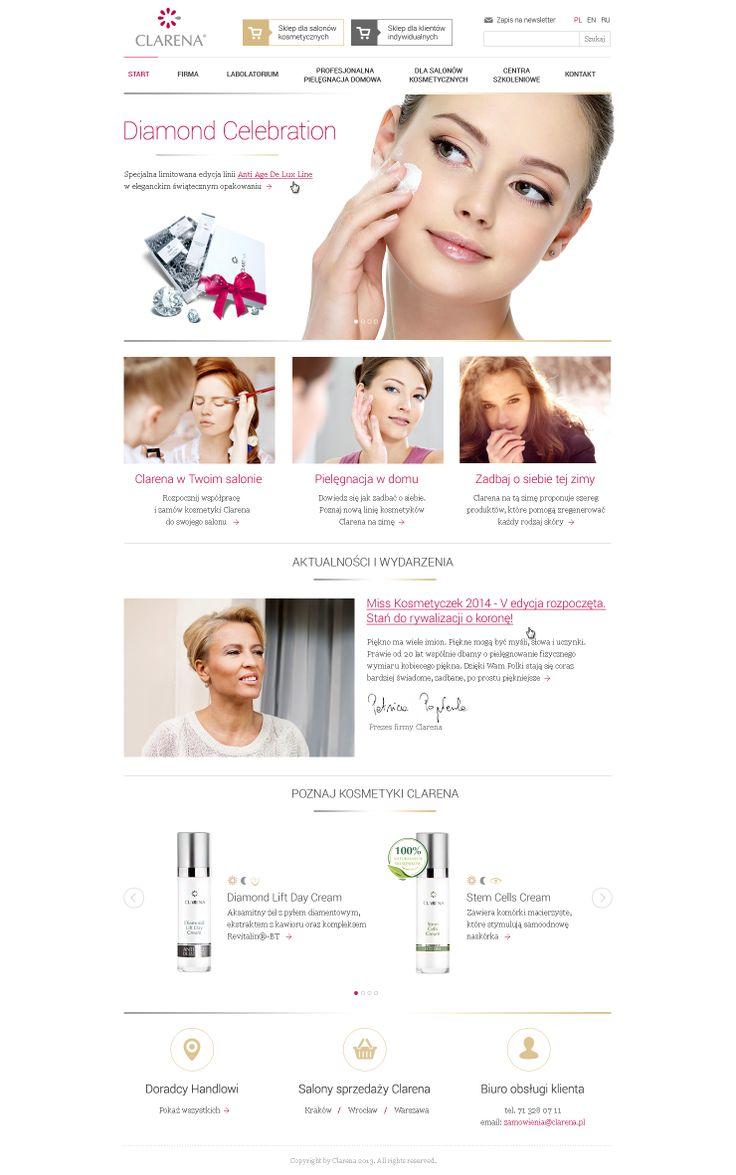 Web design for Clarena
