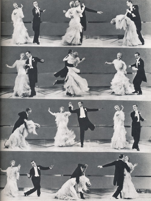 """""""Remember Ginger Rogers did everything Fred Astaire did, except backwards and in high heels!"""" - :) Keeps me going in the theatre world"""