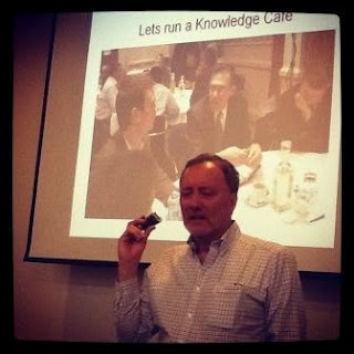 Conversations for business - Knowledge Café  workshop by David Gurteen