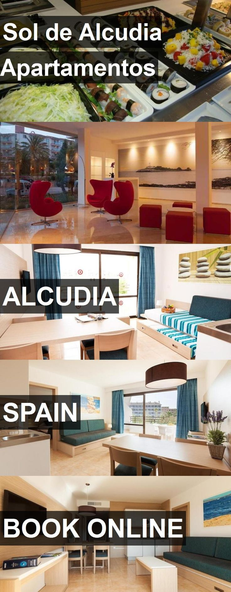 Hotel Sol de Alcudia Apartamentos in Alcudia, Spain. For more information, photos, reviews and best prices please follow the link. #Spain #Alcudia #SoldeAlcudiaApartamentos #hotel #travel #vacation