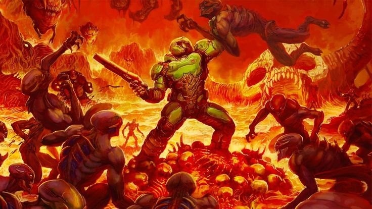 Build a gaming PC and get into Doom! http://www.buildingagamingpcsite.com/doom-system-requirements/