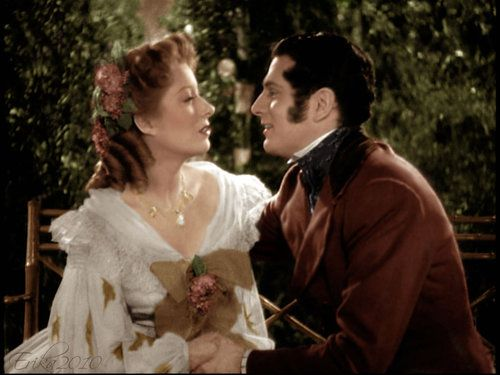 1940 Pride and Prejudice, Greer Garson and Laurence Olivier as Lizzy and Darcy,