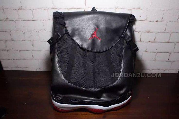 http://www.jordan2u.com/air-jordan-11-bred-backpack-bag-for-sale.html AIR JORDAN 11 BRED BACKPACK BAG FOR SALE Only $125.00 , Free Shipping!