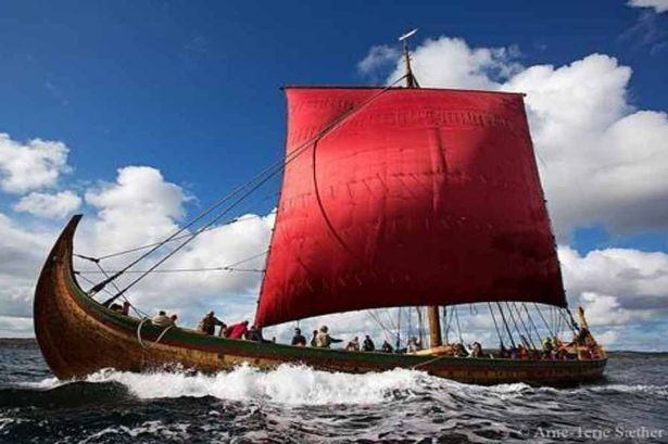 World's largest reconstructed Viking longship to sail for Merseyside during next month's Open golf tournament - Liverpool Echo