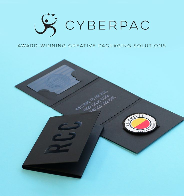Created by Cyberpac Packaging, these beautiful bespoke membership card and badge…