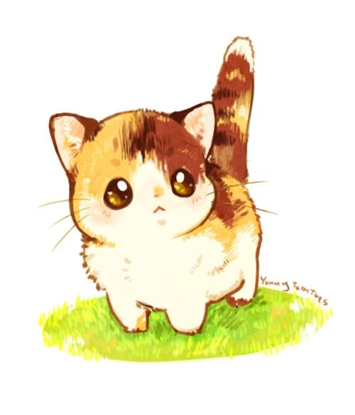 Cute Cat Drawings Tumblr | fashionplaceface.com | Cute ...