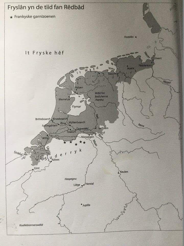 Map Of Holland And Germany.Frisian Map Around 600 Ad History Holland Map Old Maps Map