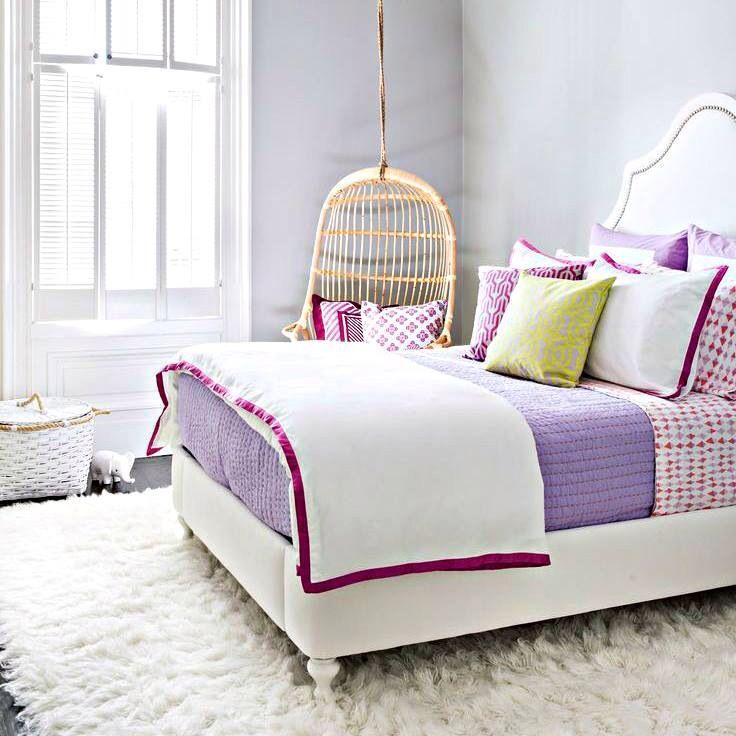 Violet bed bedrooms idee per la stanza da letto idee for Idee per decorare la stanza da letto