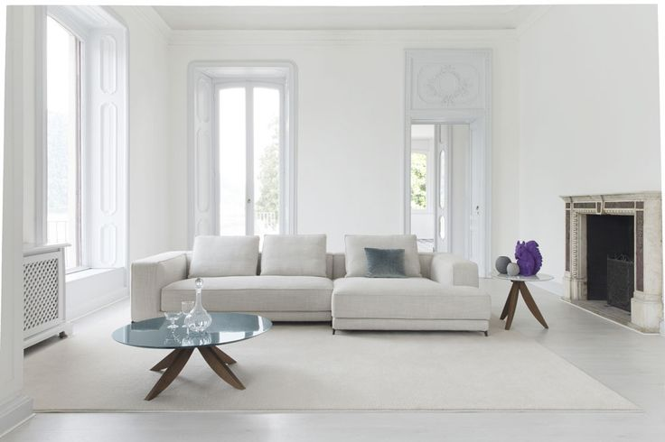 Christian sectional sofa made by BertO in Brianza, Italy. #ateliercollection #homedesign