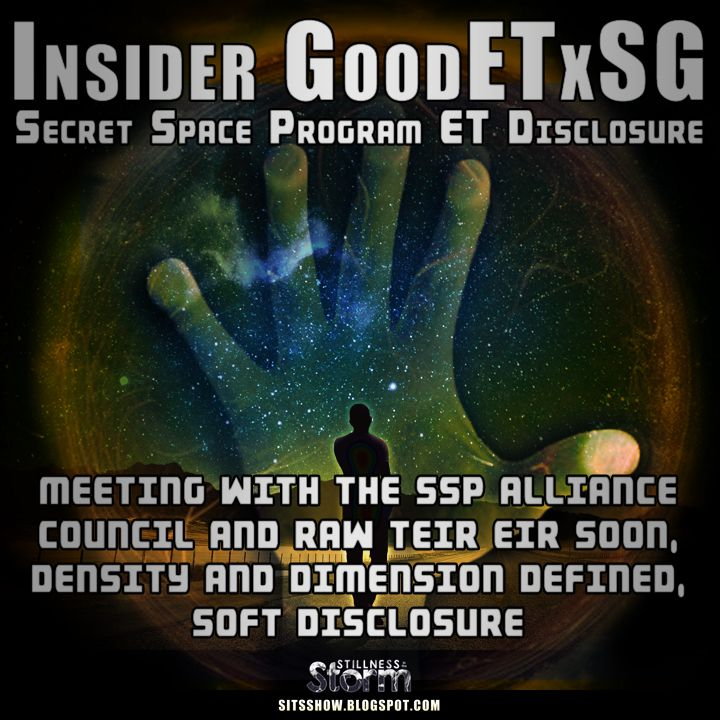 Stillness in the Storm : Meeting With The SSP Alliance Council And Raw Teir Eir Soon, Density and Dimension Defined, Soft Disclosure