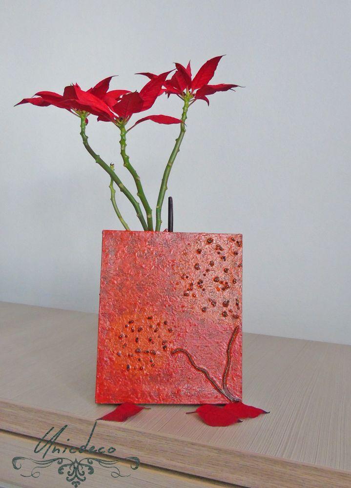 https://www.facebook.com/unicdeco/  #unicdeco #decoration #unique #red #orange #wood #art #frame
