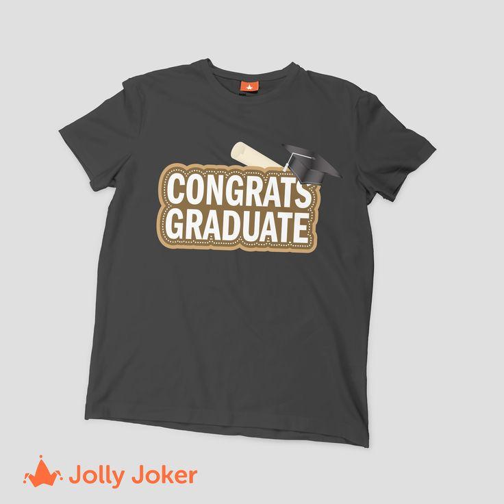 ¿Tu hermano, tu novio, tu hijo se va a graduar? Es un día inolvidable para el/ella, sorprendelo con una camiseta diseñada por ti, quedara increíble y le va a encantar! Un recuerdo que permanecerá por mucho tiempo