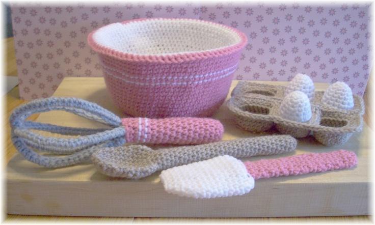 Crochet+Baking+UtensilsPDF++Pattern+by+KTBdesigns+on+Etsy,+$5.00
