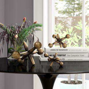 92d974d7e7f9 Figurines & Sculptures Metal Decorative Objects You'll Love   Wayfair