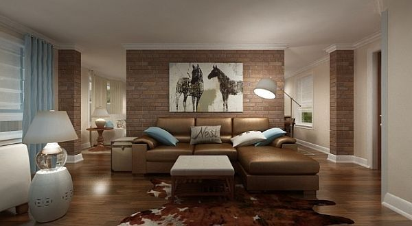 Wohnzimmer Farben Braun | Living room | Pinterest | New York ...