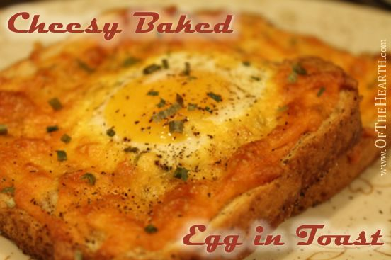 Cheesy Baked Egg in Toast is a delightful variation of two breakfast classics: eggs and toast. This easy-to-prepare breakfast will become a family favorite.
