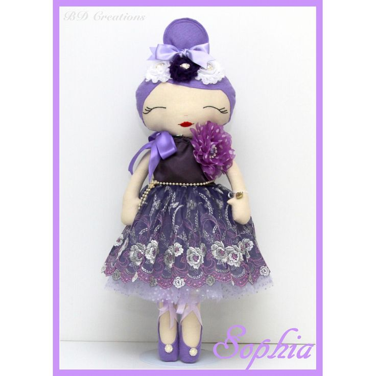 $75.00 Dolly 014 Sophia by bdcreations on Handmade Australia