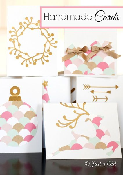 Handmade Greeting Cards by Just a Girl