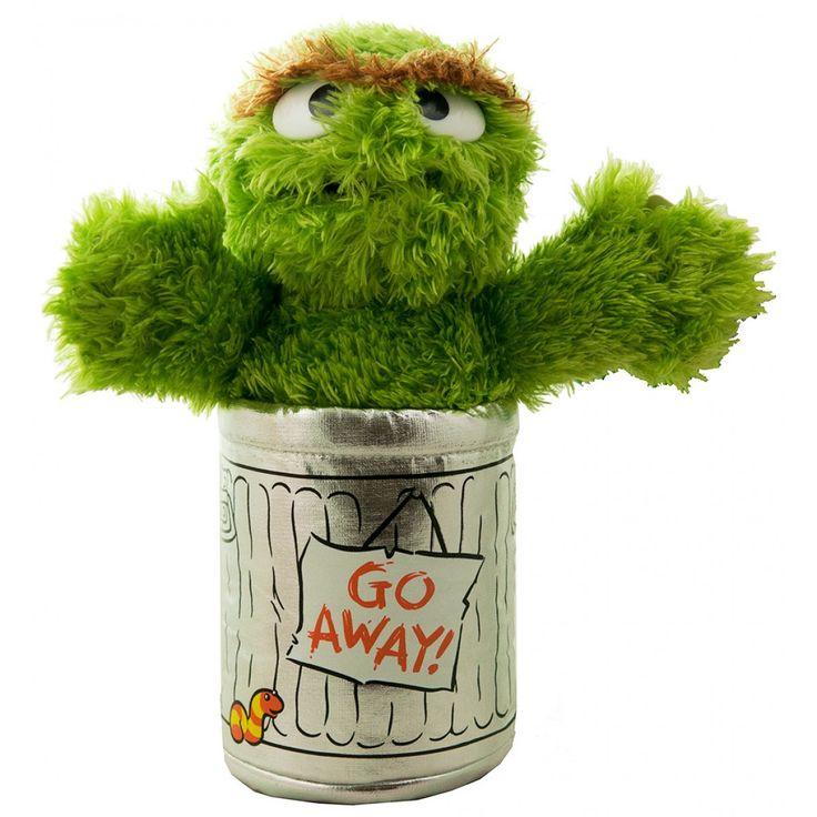 Oscar the Grouch Plush Toy