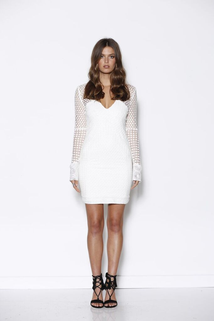 Ministry of Style - Vanish Lace Dress Ivory