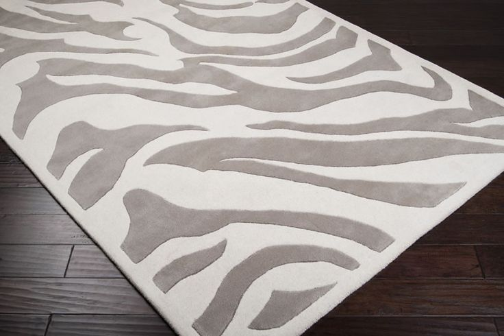 Gray And White Zebra Rug Rugs Ideas