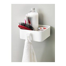 ENUDDEN Wall storage with knob, white - IKEA  I like this. Have to think of where we would put it