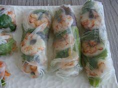 Me encantan los Rollos de primavera Vietnamitas ..... Son fresco, sabroso, fáciles de hacer con lo que tenemos en la nevera ...... Per...