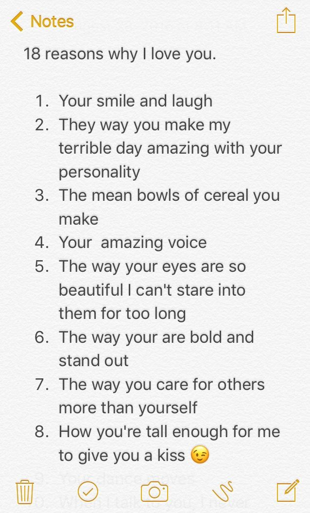 Photo of Part 1 of 18 reasons why I love you