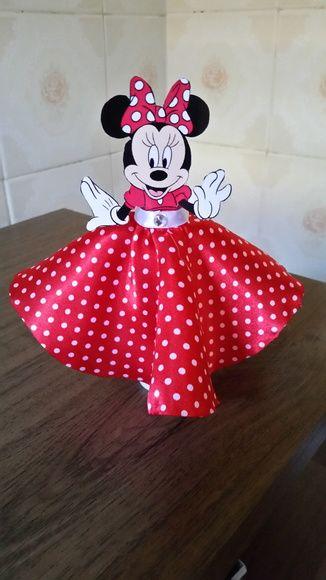 Tubete Vestido Minnie