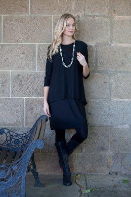 Cordelia St 3/4 Forgive Me Dress - Womens Knee Length Dresses - Birdsnest Clothing Online