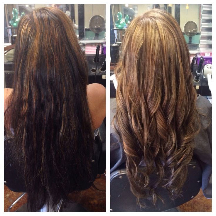 Before And After Highlights With Olaplex Madison Fuller