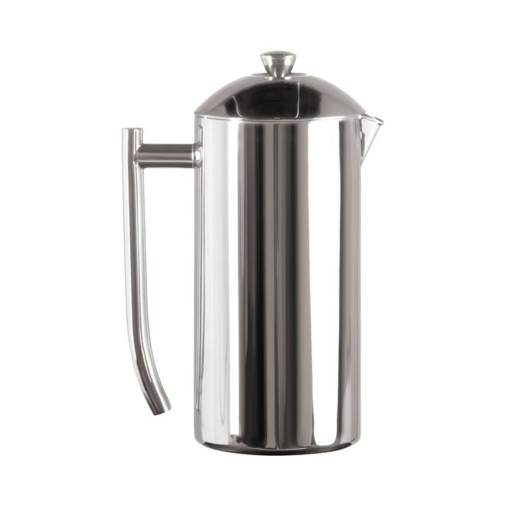 Frieling USA Double Wall Stainless Steel French Press Coffee Maker with Patented Dual Screen in Frustration Free Packaging, Polished, 36-Ounce *** Click image to review more details.