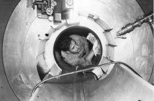 The Big Guns: Battleship North Carolina Blog...Inside the big gun barrel