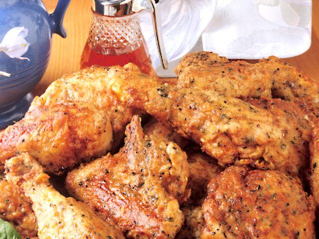 Yoghurt och kryddmarinerad kyckling med syrlig sås (kock recept.nu)