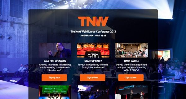 http://thenextweb.com/conference/europe/  24 Awesome Web Design Conferences You Should Know