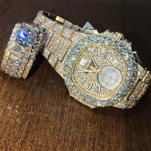 Serious Talk Getyourmoneyup Patekphilippe Bigface Diamondsonfleek Rosegold California Bayarea Bussdo En 2020 Joyas De Moda Joyas De Diamantes Joyeria De Lujo