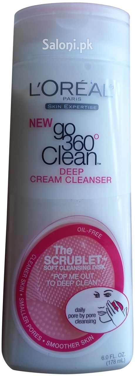 l 39 oreal paris new go 360 clean deep cream cleanser 178 ml. Black Bedroom Furniture Sets. Home Design Ideas