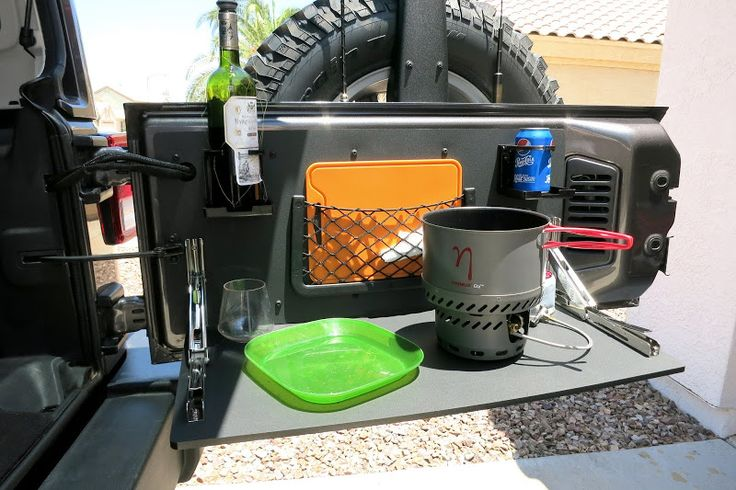 Jeek JK DIY Tailgate Table - 1st Attempt - Offroad Passport Community Forum
