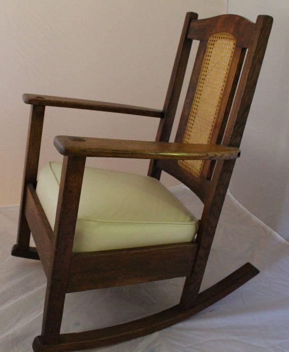 Rocking chair  Charles P. Limbert Furniture  Pinterest  Rocking ...